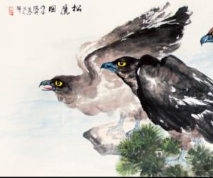 王作宝花鸟画欣赏